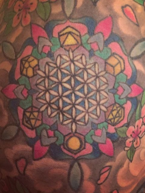 flower of life tattoo