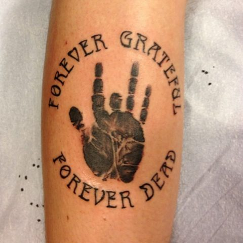 forever grateful tattoo