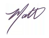 matt signature