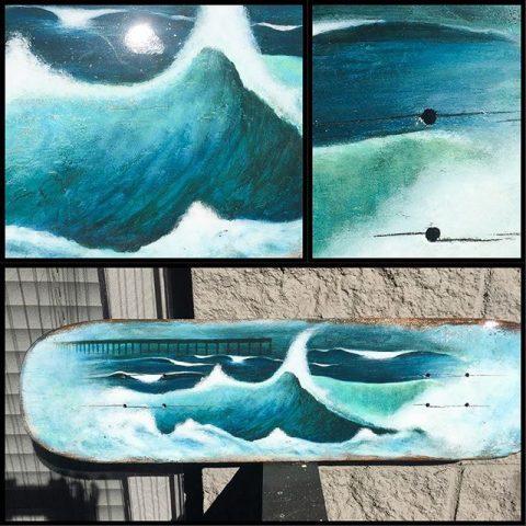 ocean beack board