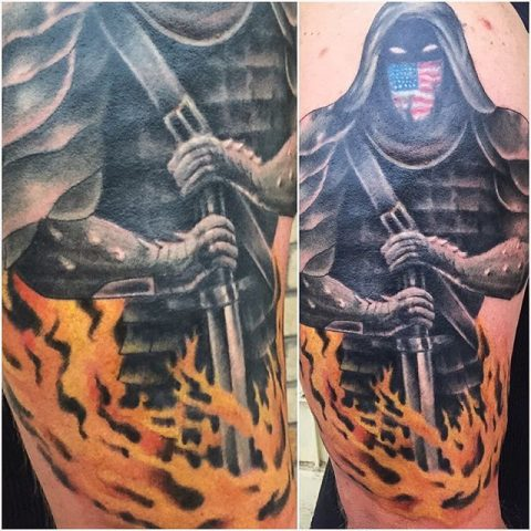 protector tattoo