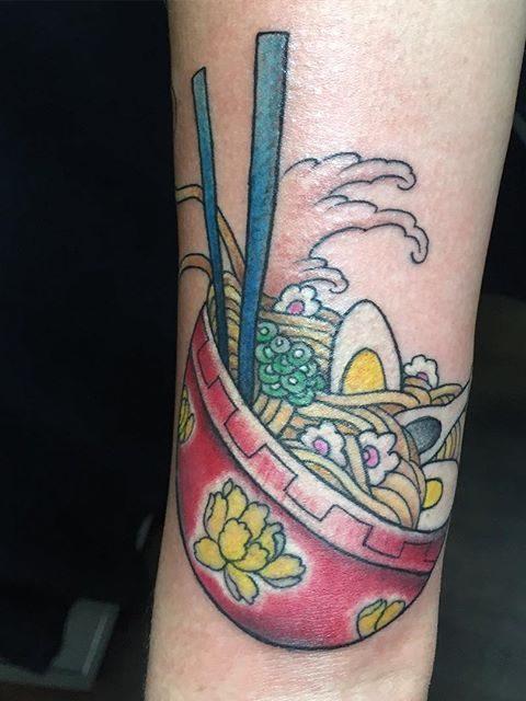ramen tattoo